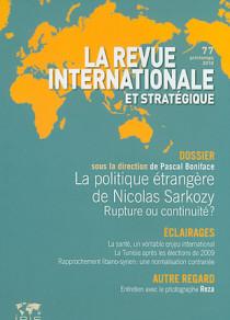 Pevue internationale et stratégique, printemps 2010