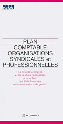 Plan comptable organisations syndicales et professionnelles