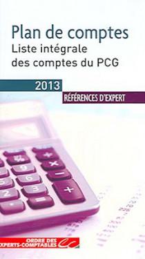 Plan de comptes 2013