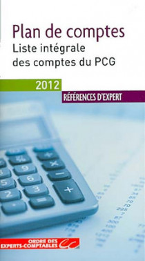 Plan de comptes - Edition 2012