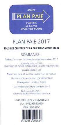 Plan paie 2017 (dépliant recto-verso)