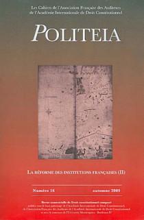Politeia, automne 2009 N°16