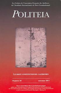 Politeia, automne 2011 N°20