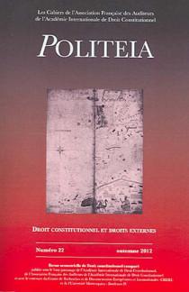 Politeia, automne 2012 N°22