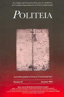 Politeia, automne 2013 N°24