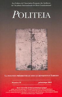 Politeia, printemps 2013 N°23