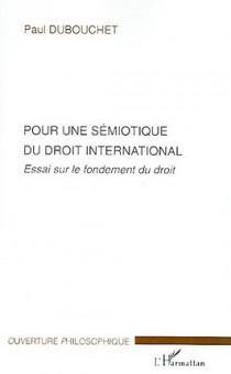 Pour une sémiotique du droit international