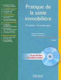 Pratique de la saisie immobilière (1 livre + 1 CD-Rom)