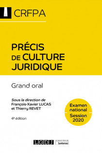 [EBOOK] Précis de culture juridique - CRFPA - Examen national Session 2020