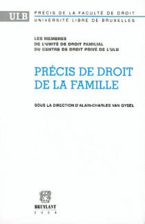 Précis de droit de la famille