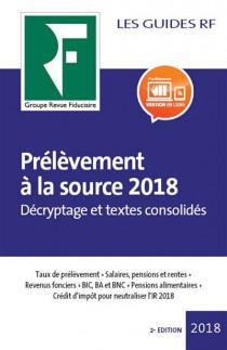 Prélèvement à la source 2018