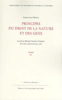 Principes du droit de la nature et des gens