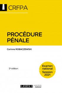 Procédure pénale - CRFPA - Examen national Session 2021