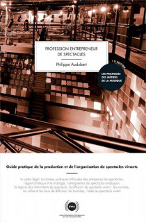 Profession entrepreneur de spectacles