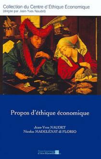 Propos d'éthique économique