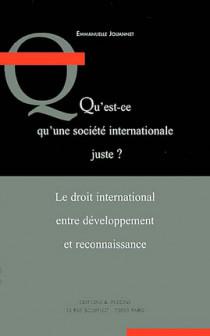 Qu'est-ce qu'une société internationale juste ?