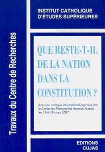 Que reste-t-il de la nation dans la Constitution ?