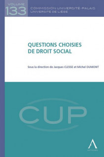 Questions choisies de droit social