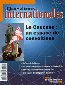 Questions internationales, mai-juin 2009 N°37