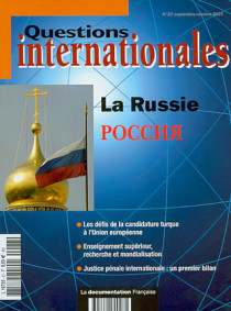 Questions internationales, septembre-octobre 2007 N°27