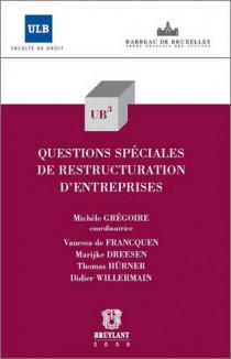 Questions spéciales de restructuration d'entreprises