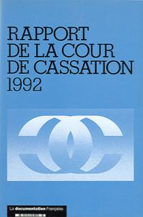 Rapport de la Cour de cassation 1992