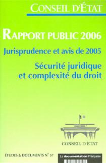 Rapport public 2006