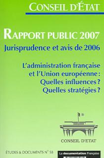 Rapport public du Conseil d'Etat 2007