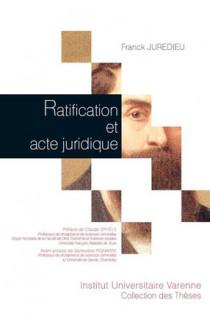 Ratification et acte juridique