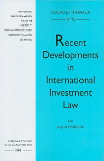 Recent Developments in International Investment Law N°12