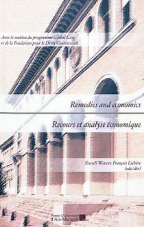 Recours et analyse économique - Remedies and economics