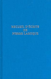 Recueil d'écrits de Pierre Laroque