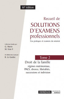 [EBOOK] Recueil de solutions d'examens professionnels