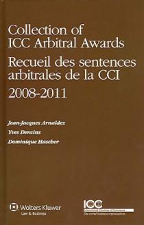 Recueil des sentences arbitrales de la CCI 2008-2011