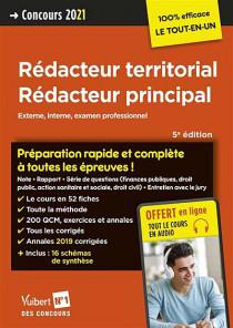 Rédacteur territorial, rédacteur principal : concours 2021