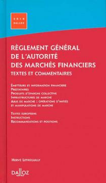Réglement général de l'Autorité des Marchés Financiers 2010