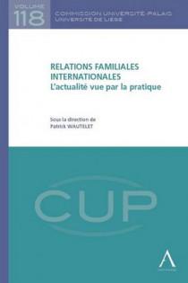 Relations familiales internationales - L'actualité vue par la pratique