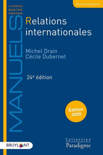 Relations internationales - Édition 2020