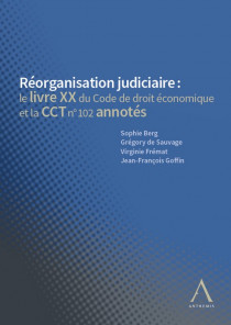 Réorganisation judiciaire : code annoté