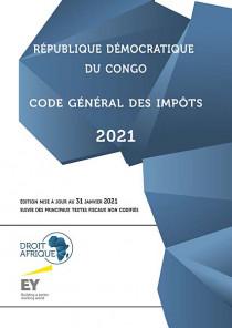 République Démocratique du Congo : code général des impôts 2021