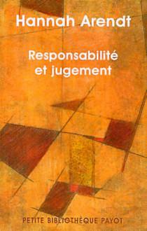 Responsabilité et jugement