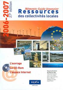 Ressources des collectivités locales 2006-2007 (1 livre + 1 CD-Rom)