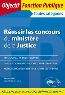 Réussir les concours du ministère de la justice