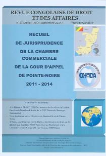 Revue congolaise de droit et des affaires, juillet-septembre 2014 N°17