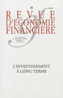Revue d'économie financière, décembre 2012 N°108