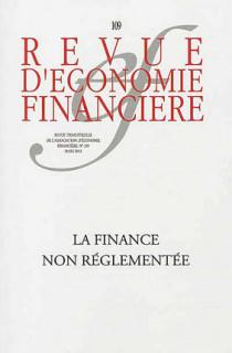 Revue d'économie financière, mars 2013 N°109