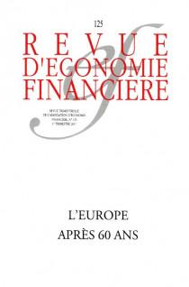Revue d'économie financière, 1er trimestre 2017 N°125