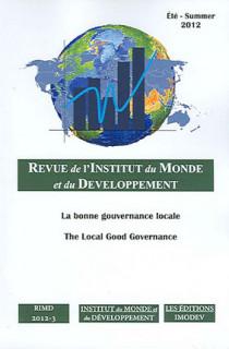 Revue de l'Institut du Monde et du Développement, été 2012 N°3