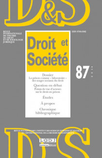 Revue Droit et Société, 2014 N°87