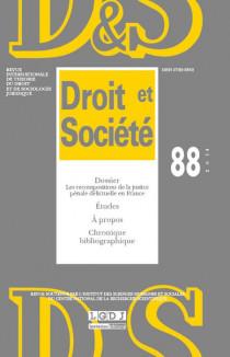 Revue Droit et Société, 2014 N°88